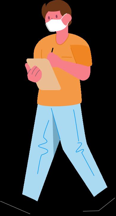 lekár ilustrácia